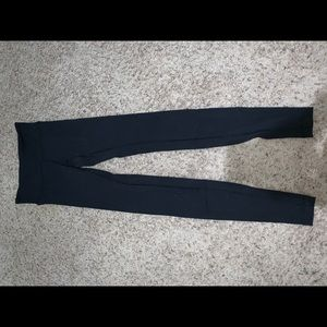 Black Lululemon wunder under leggings